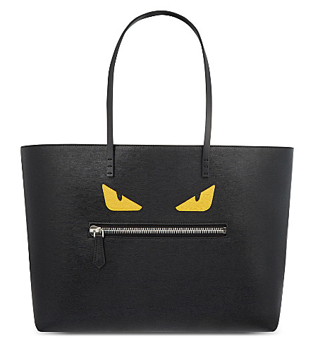 FENDI Monster shopper (Black