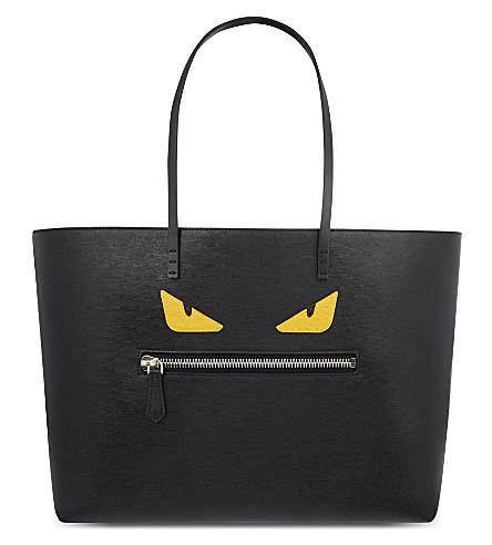 FENDI Monster shopper (Black