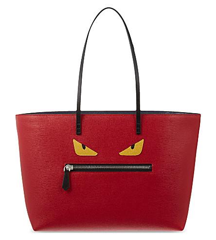 FENDI Monster shopper (Red