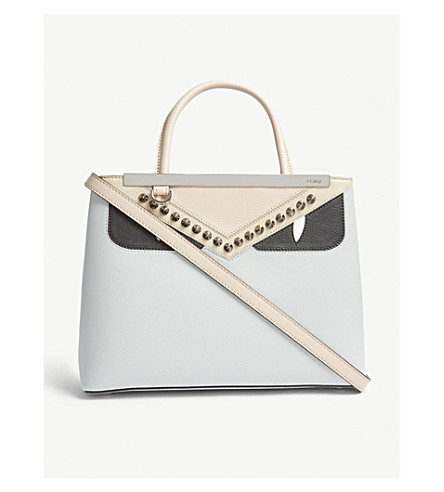 ... FENDI 2 Jours petite monster leather tote (Cream. PreviousNext 8c6a8e20c0