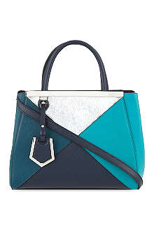 FENDI 2Jour mini four colour tote