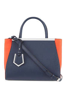 FENDI Mini 2jour two-colour tote