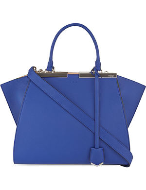 FENDI Mini 3Jours leather tote