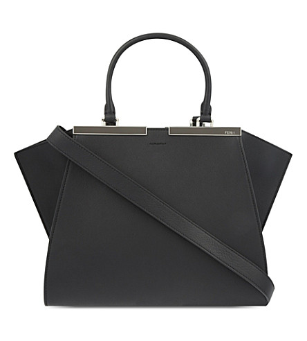 FENDI 3Jours leather tote (Black