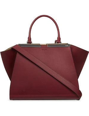 FENDI 3Jours mini leather tote