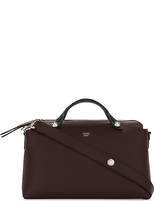 fendi by the way bicolour small leather shoulder bag