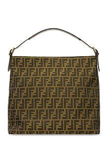 FENDI Large Zucca hobo bag