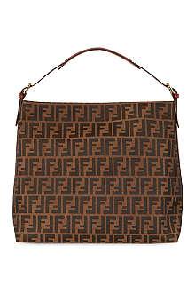 FENDI Zucca large hobo bag