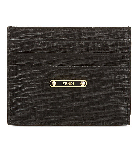FENDI Crayon card holder (Black