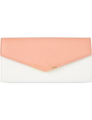 FENDI 2Jours leather wallet
