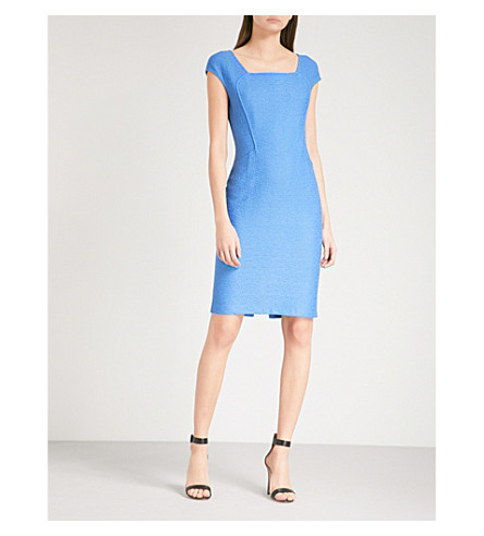 ST JOHN Hannah wool-blend dress (Niagara