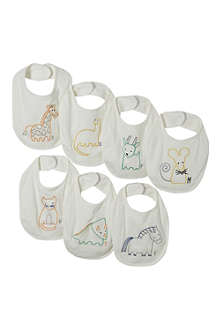 STELLA MCCARTNEY Set of 7 teddy bibs
