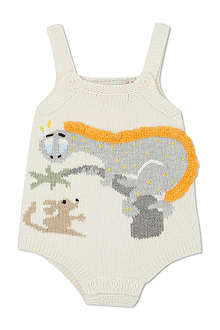 STELLA MCCARTNEY Dotty dino knit overall 3-9 months