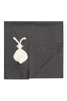 STELLA MCCARTNEY Snowball bunny blanket