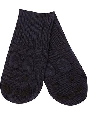 STELLA MCCARTNEY Mopsey bunny mittens 3-24 months