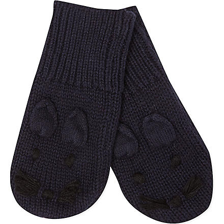 STELLA MCCARTNEY Mopsey bunny mittens 3-24 months (Night