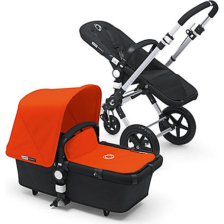 BUGABOO Orange tailored fabric stroller set