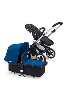 BUGABOO Blue fabric sun canopy and apron