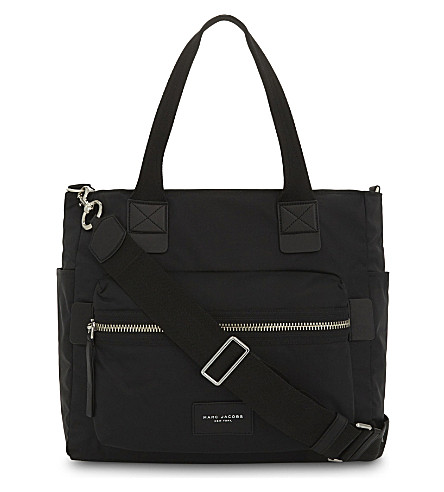 MARC JACOBS Biker nylon changing bag (Black
