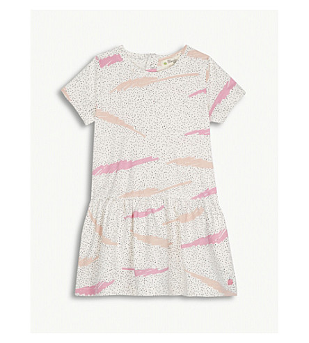 BONNIE MOB Squiggle print stetch-cotton dress 12-18 months (Pink