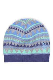 BONNIE BABY Fair isle knit hat 2-3 years