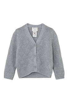 BONNIE BABY Textured geometric cardigan 6 months - 5 years