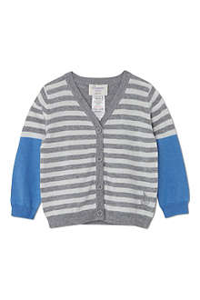 BONNIE BABY Fine knit striped cardigan 3 months-5 years