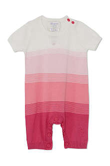 BONNIE BABY Ombre striped playsuit 0-12 months