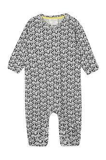 BONNIE BABY Panda print playsuit  0-18 months