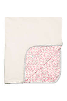 BONNIE BABY Reversible baby blanket