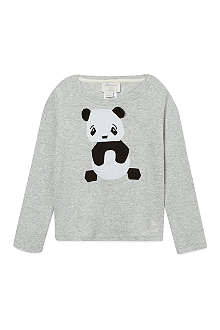 BONNIE BABY Panda applique long sleeve tshirt 2-3 years