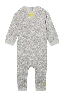 BONNIE BABY Rabbit print playsuit 0-24 months