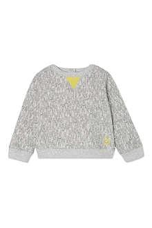 BONNIE BABY Rabbit print sweatshirt 2-3 years