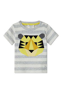 BONNIE BABY Tiger appliqué t-shirt 6months - 5years