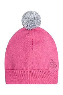 BONNIE BABY Knitted pom pom hat