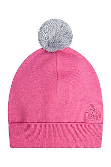 BONNIE BABY Knitted pom pom hat 0-2 years