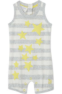 BONNIE BABY Appliqué star playsuit 0-18 months