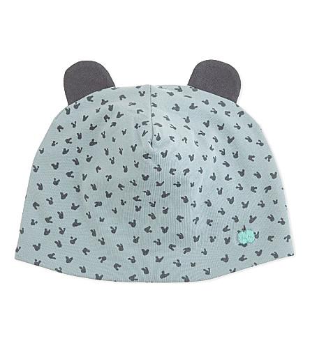 BONNIE MOB Bunny ears beanie hat 0-12 months (Blue