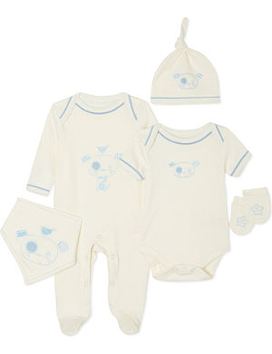 NATURES PUREST So Cute five piece set 0-3 months