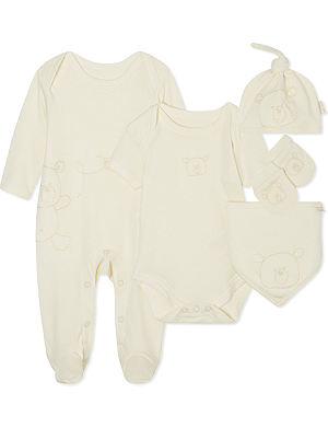 NATURES PUREST Basics 5 piece set 3-6 months
