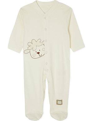 NATURES PUREST Sleepy Sheepy sleepsuit 0-3 months