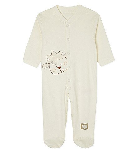 NATURES PUREST Sleepy Sheepy sleepsuit 0-3 months (Cream