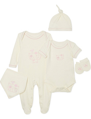 NATURES PUREST So Sweet five piece set 0-3 months