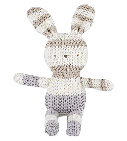 NATURES PUREST Billi knitted bunny (White