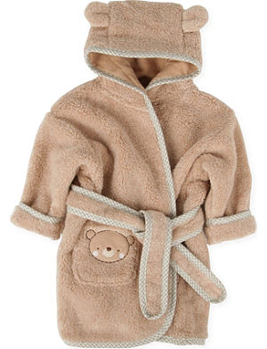 NATURES PUREST Teddy & Ele bathrobe 0-6 months