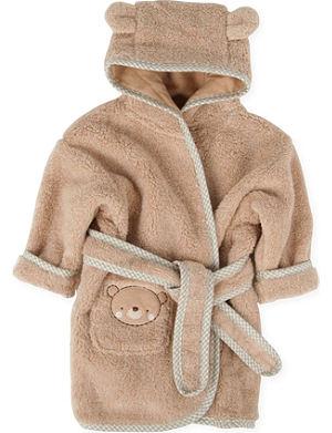 NATURES PUREST Teddy & Ele bathrobe 0-6 months