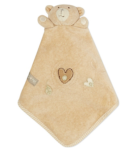 NATURES PUREST Teddy bear comforter (White