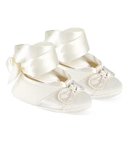 NATURES PUREST Iris shoes 0-6 months (White