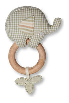 NATURES PUREST Ele teething rattle