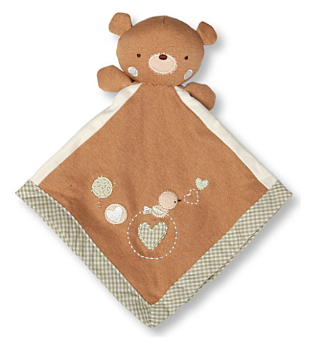NATURES PUREST Teddy snuggle buddy (Brown